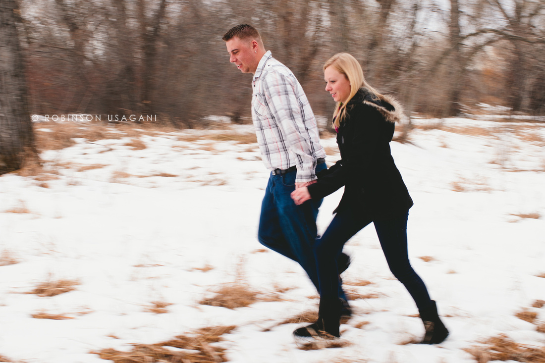 Engagement session at Ketring Lake in Littleton, Colorado